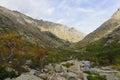 Restonica gorge the gorges de la in corsica france Stock Photos