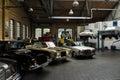 Restoration workshop Mercedes-Benz Royalty Free Stock Photo