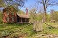 Restored farmhouse Royalty Free Stock Photo