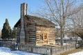 Restored log cabin Royalty Free Stock Photo