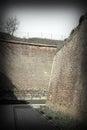 Restored passageway in old fortress alba iulia romania Stock Image
