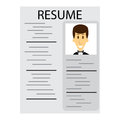 Resume for employment