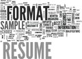 A Resume Sample Will Give You A Clear Idea Of What Will Best Suit Your Needs Word Cloud Royalty Free Stock Photo
