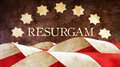 Resurgam. The Latin for I shall rise again. Royalty Free Stock Photo