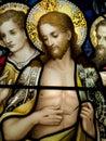 Resurrected Christ Royalty Free Stock Photos
