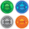 Retail labels Stock Images