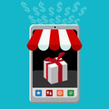 Retail Mobile Purchase Icon