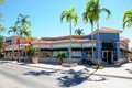 Retail store front strip mall, South Florida Royalty Free Stock Photo