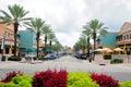 Retail stores & restaurants, FL Royalty Free Stock Photo