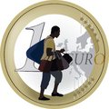 Retailer of color trades in bags for one euro