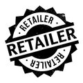 Retailer rubber stamp