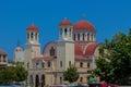 Rethymno, Greece - July 31, 2016: Four Martyrs Church.
