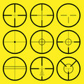 Reticle, crosshair Royalty Free Stock Photography