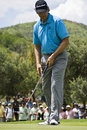 Retief Goosen - Putting Out - NGC2009 Stock Images