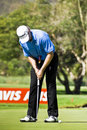 Retief Goosen - Putting Out - NGC2010 Stock Images