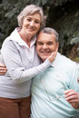 Retired couple Royalty Free Stock Photo