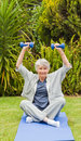 Retired woman Stock Photography