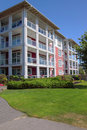 Retirement community in Richmond BC Canada. Royalty Free Stock Photography
