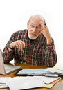 Retirement Money Worries Stock Photos
