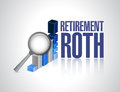 retirement roth business under review Royalty Free Stock Photo