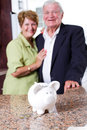 Retirement savings Royalty Free Stock Images