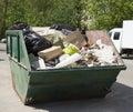 Retiro de la basura Fotografía de archivo