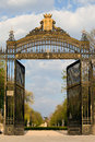 Retiro Park Entrance in Madrid Royalty Free Stock Images