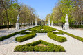 Retiro Park in Madrid Stock Image