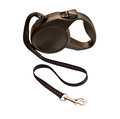 Retractable leash for dog isolated on white background Stock Images