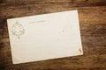 Retro 1900th postcard Royalty Free Stock Photo