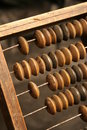 Retro abacus Royalty Free Stock Photo