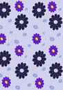 Retro abstract floral  Pattern Royalty Free Stock Photo