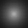 Retro abstract halftone circle pattern background from dots Royalty Free Stock Photo