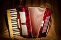 Retro accordion Stock Photography
