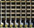 Retro Age Telephone Switchboard Royalty Free Stock Images