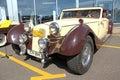 Retro auto show. DKW Stock Photos