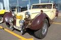 Retro auto show. DKW Royalty Free Stock Photos