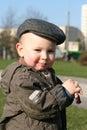 Retro baby Royalty Free Stock Photo