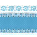 Retro background with lace borders