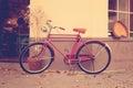 Retro bicycle Royalty Free Stock Photo