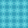 Retro Blue Seamless Vector Wallpaper Royalty Free Stock Photo