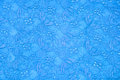 Retro blue textile for background Royalty Free Stock Photos