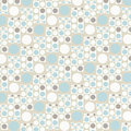 Retro blue wallpaper Royalty Free Stock Image
