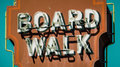 Retro Boardwalk Sign