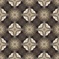 Retro Brown Seamless Vector Wallpaper