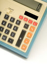 Retro Calculator Royalty Free Stock Photo