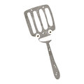 Retro cartoon spatula Royalty Free Stock Images