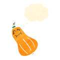 Retro cartoon squash Stock Photography