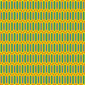 Retro cells pattern sixties or seventies wallpaper Royalty Free Stock Photo