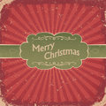 Retro Christmas Background. Royalty Free Stock Photography